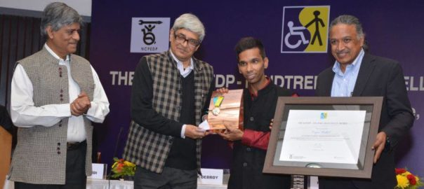 The winners will be felicitated during a ceremony in New Delhi on December 2 - the eve of World Disability Day