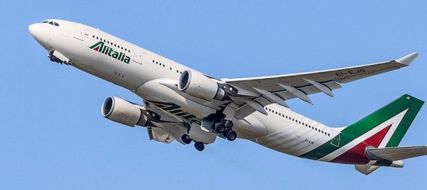 Alitalia's main hub is Leonardo da Vinci-Fiumicino Airport, Rome, and a secondary is Linate Airport, Milan