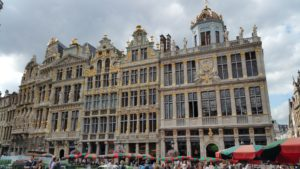 The Grand Place in Brussels is the centre for all visitors, locals and passers-by