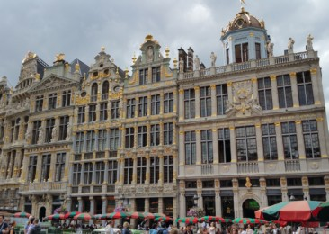 Exploring the charming Brussels