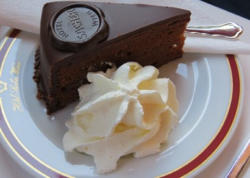 Sacher Torte in Vienna