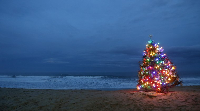 A beach-side Christmas getaway (representative image; source: AP)