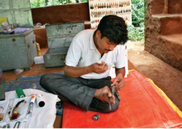 La artesanía india