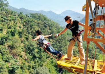Un salto al vacío en Rishikesh