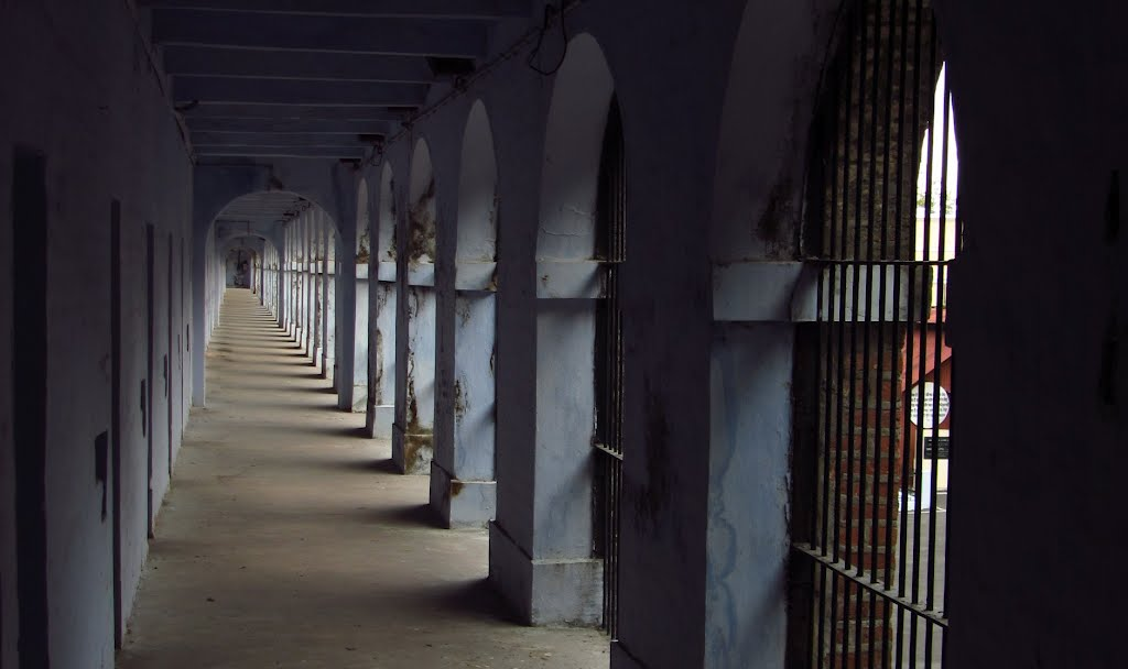 The jail is popularly known as 'Kaala Pani'