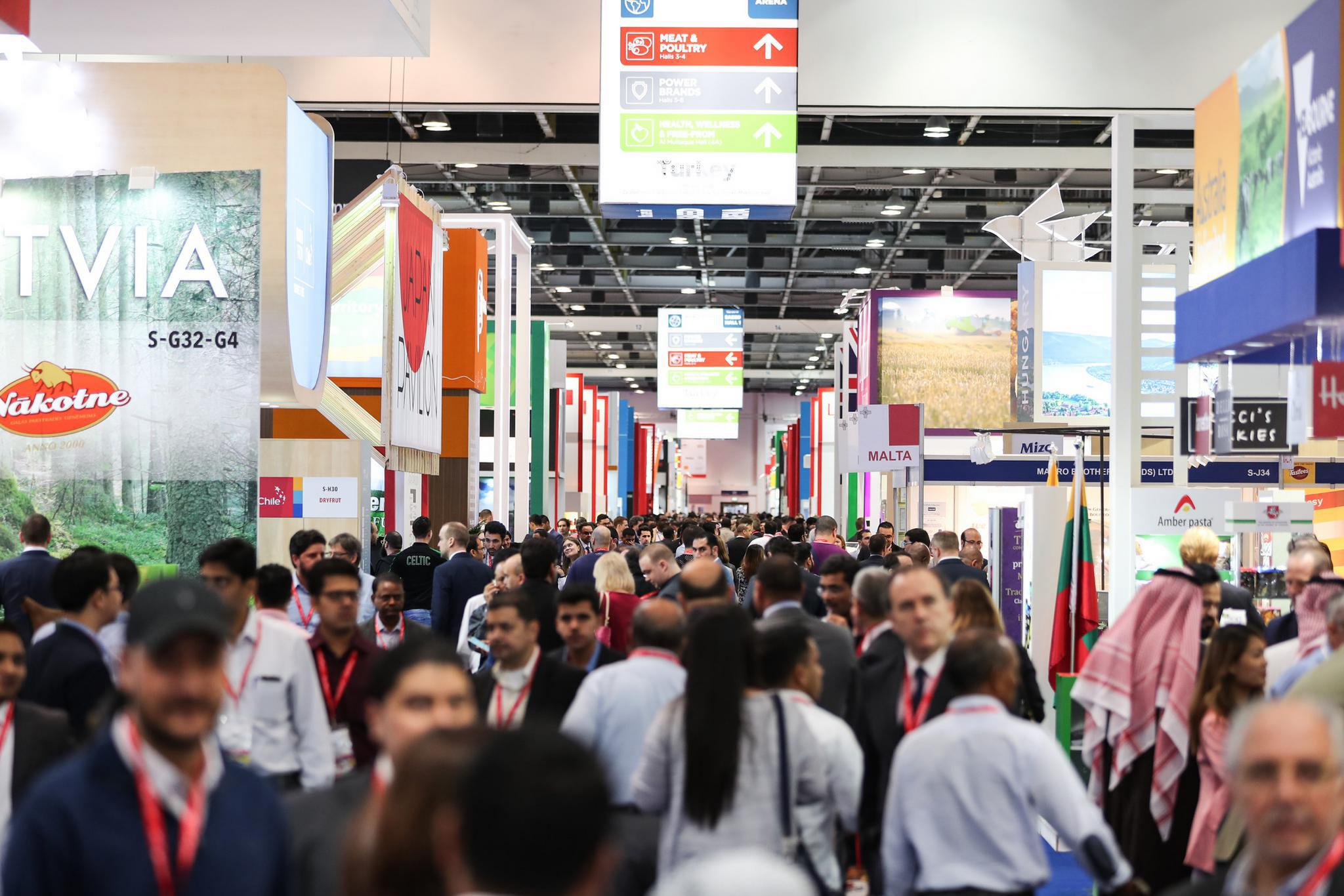 Gulfood is being held at Dubai World Trade Centre