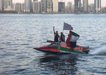 Experiencing powerboat racing in Sharjah