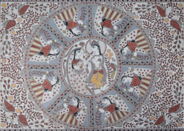 Madhubani paintings become the graffiti for Bihar