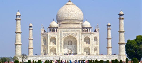 The Taj Mahal was designated as a UNESCO World Heritage Site in 1983