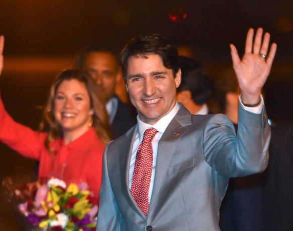 Prime Minister Justin Trudeau's seven-day official visit to India started yesterday