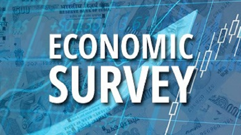 The Economic Survey 2017-18 presented by India's Finance Minister Arun Jaitley