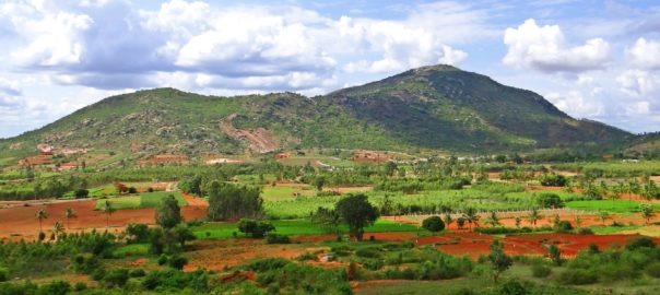 Nandi Hills offer a beautiful view of its surroundings
