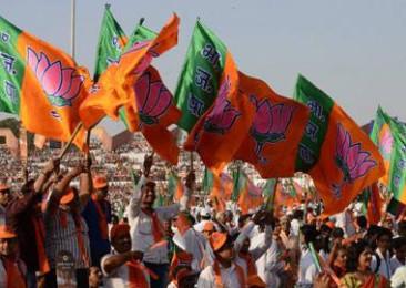 Saffron surge in Tripura