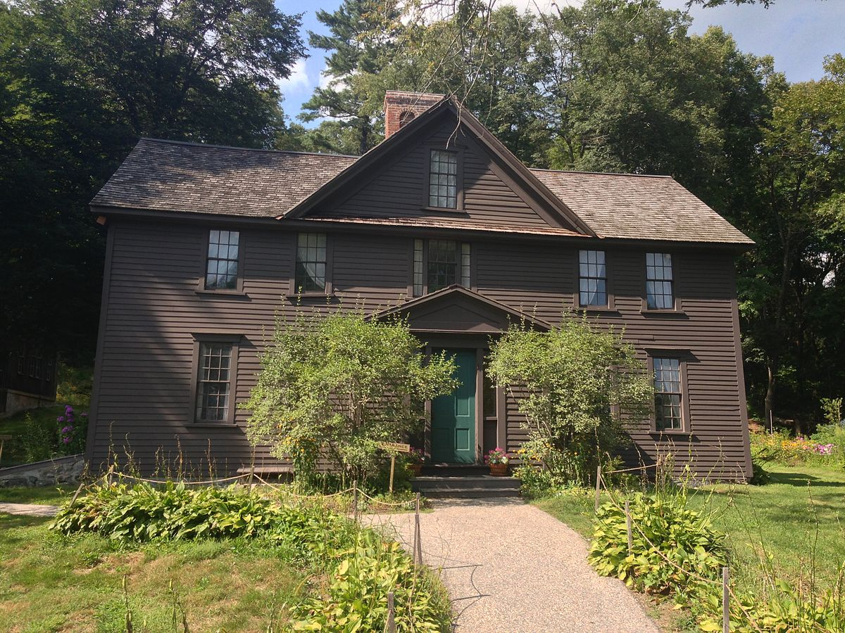 Orchard House from the Little Women fame