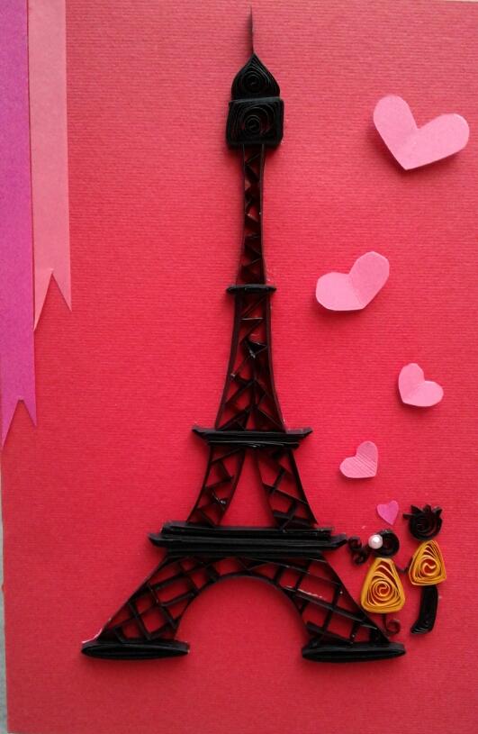 Quilling in Paris
