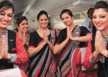 All woman crew flight takes off from Kolkata