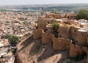 The desert city of Jaisalmer