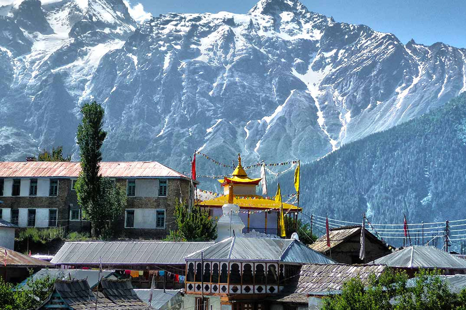 Kalpa Kinnaur Village Photo: Himachal Trip Expert