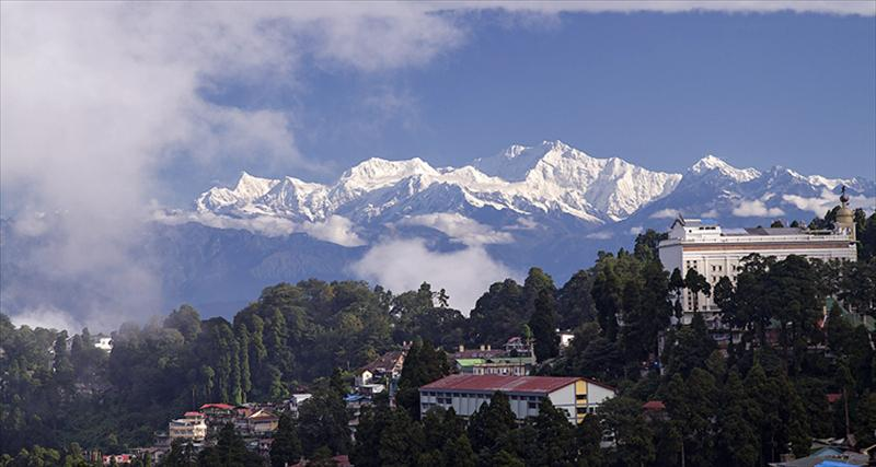 Pelling, the picturesque hill station Photo: Sikkim Tourism Development Corporation