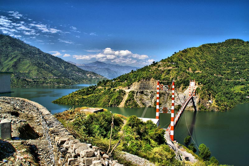 Tehri Lake in Chopta Photo: Chopta.In