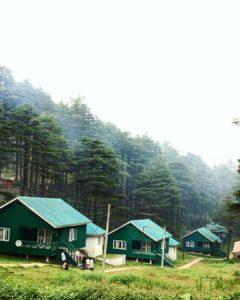 Les cottages en bois écologiques de Patnitop