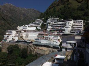 La grotte sacrée de Vaishno Devi