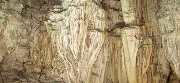 The walls and ceilings of the Caves have intricate patterns if observed carefully
