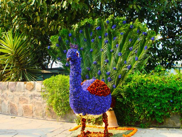 Garden of Five Senses in New Delhi