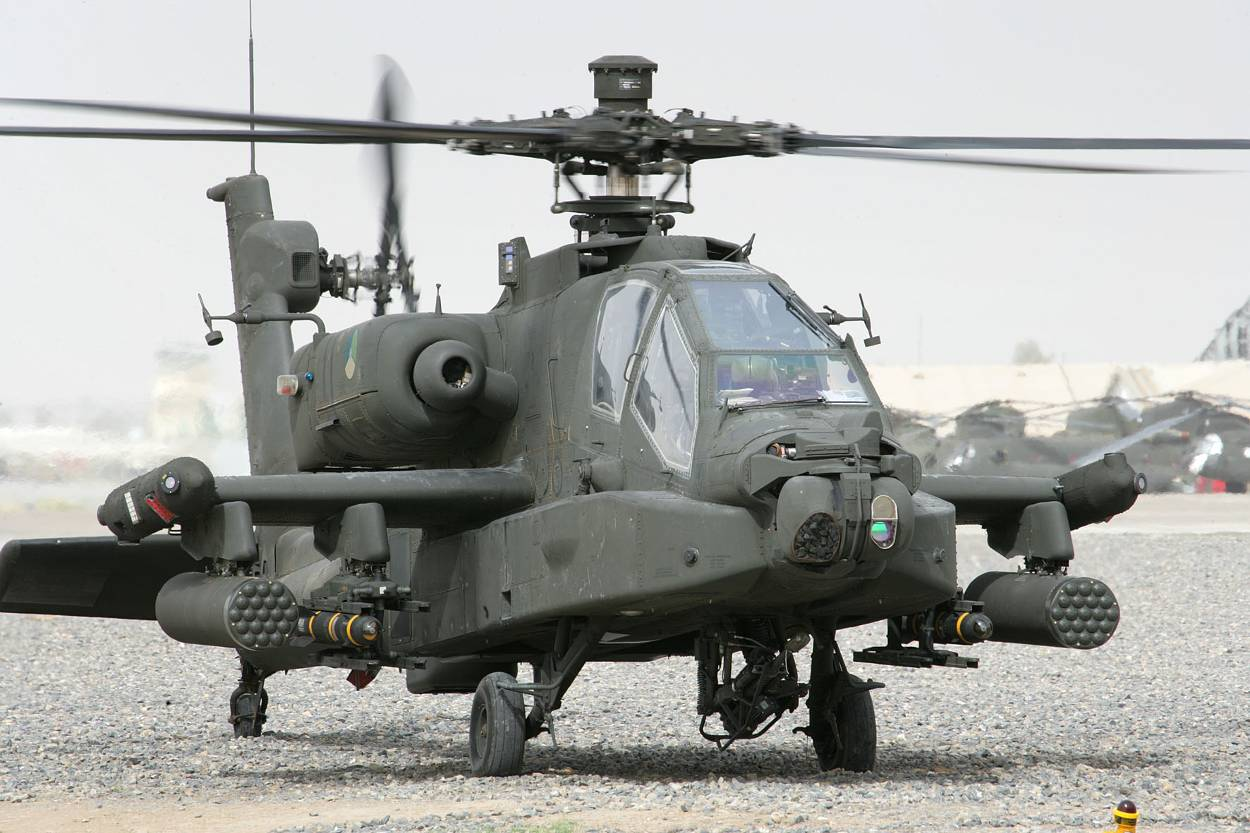 The Boeing AH-64 Apache is an American warcraft that is popular in India