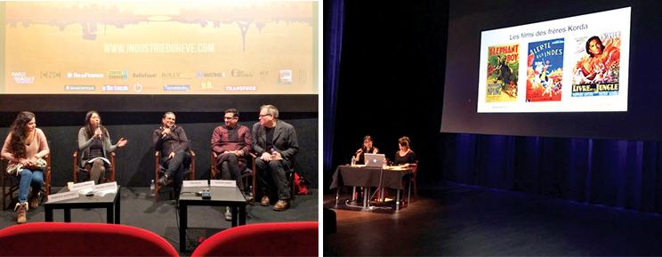 L'équipe de Contre-courants essaie de mieux faire connaître la diversité des cinémas indiens, notamment lors de conférences sur le cinéma indien ou les films parlant de l'Inde