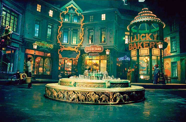 Sets of the 2007 Bollywood film Saawariya;