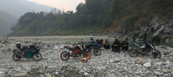 Bikers often swear by these road trips for a healthy dose of adrenaline rush Photo: Neerajan Saha