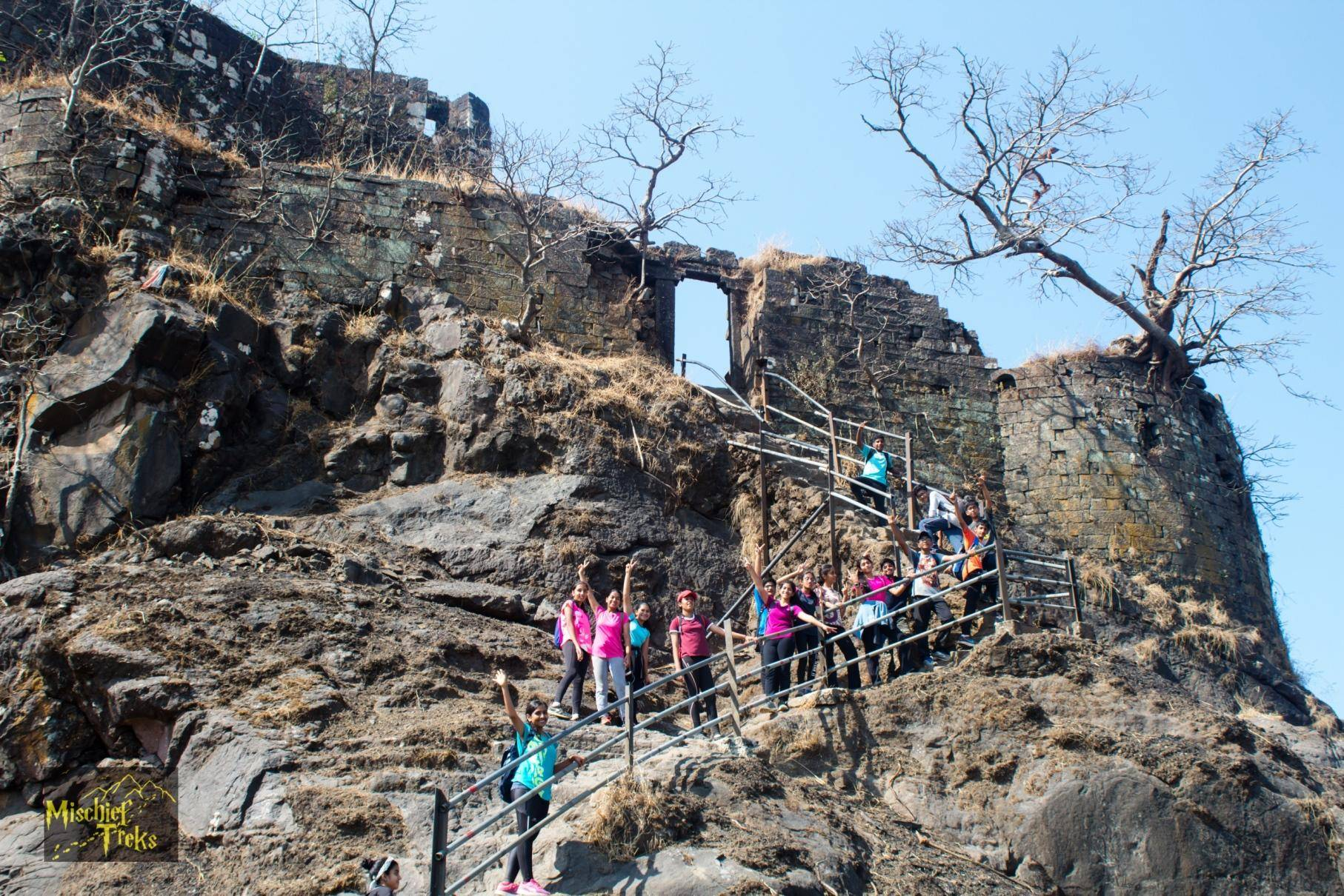 The Karnala Fort trek is loved by trekking enthusiasts