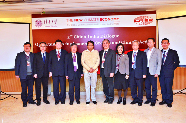 Suresh Prabhu at the China-India dialogue for opportunities for economic growth