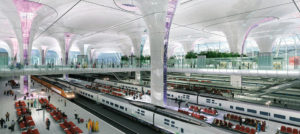 State-of-the-art amenities for railway stations