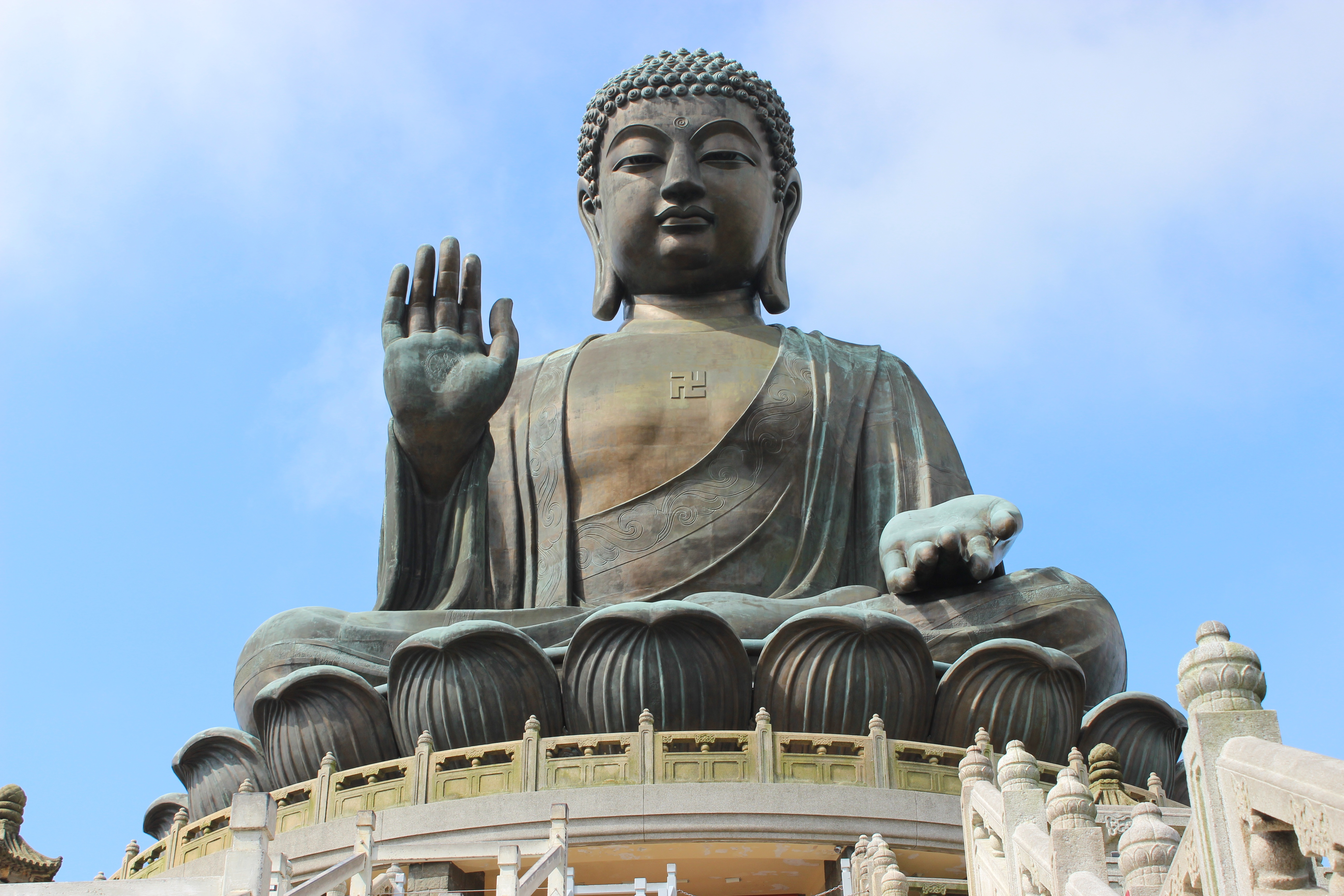 The Tian Tan Buddha is revered by tourists