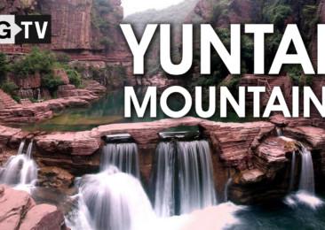Trekking in Yuntai Mountain