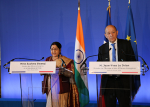 Boosting French trade with India was one of the several issues that Indian External Affairs Minister Sushma Swaraj discussed with her French counterpart Jean Yves Le Drian