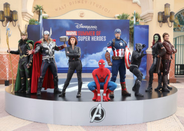 Marvel Superheroes descend on Disneyland Paris