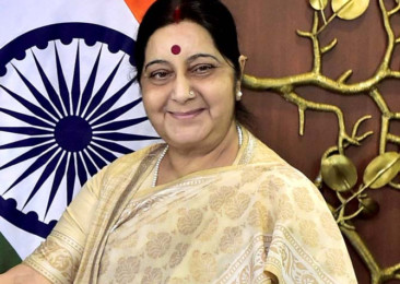 Swaraj on maiden visit to France