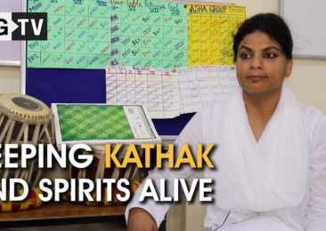 Keeping kathak and spirits alive