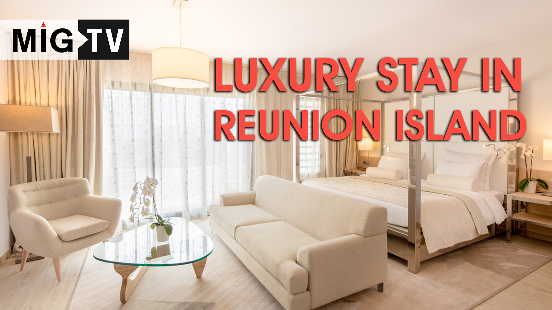 Luxury stay in Reunion Island