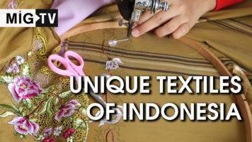 Unique Textiles of Indonesia