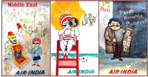 The priceless art collection of Air India