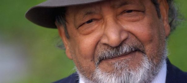 Naipaul passes away drawing the veritable curtain on an era of literature and politics