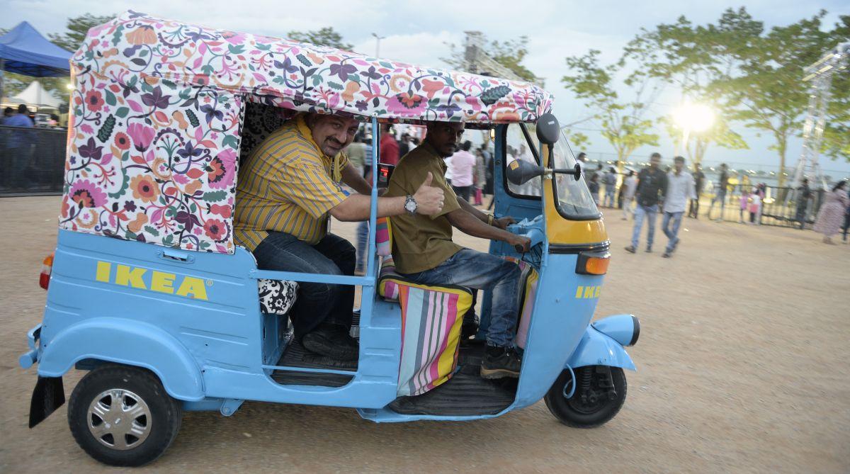IKEA auto rickshaws