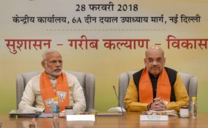 Narendra Modi, Amit Shah meet CMs, deputy CMs of BJP-ruled states