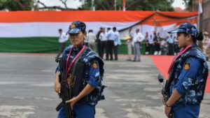 All women SWAT team at Red Fort