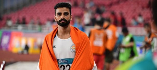 Arpinder Singh at the Asian Games 2018
