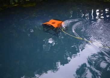 India unveils its first ever underwater robotic drone